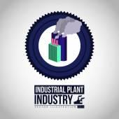Industry design, vector illustration. — Stock Vector