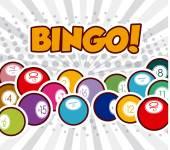 Bingo design, vektorové ilustrace. — Stock vektor