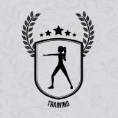 Sport ontwerp, vectorillustratie. — Stockvector