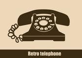 Telephone design, vector illustration. — Stock Vector