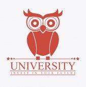 University design, vector illustration. — Stockvektor