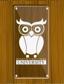 University design, vector illustration. — Vecteur