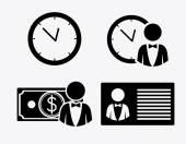 Bank, desing, vector illustration. — Vector de stock