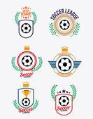Soccer desing vector illustration. — Stock Vector