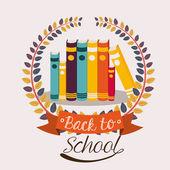 School desing vector illustration. — 图库矢量图片