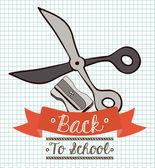 Schule Design Vektor-illustration. — Stockvektor