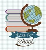 School desing vector illustration. — Stock Vector
