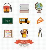 School desing vector illustration. — Stockvector