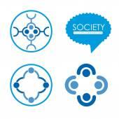Society Design — 图库矢量图片