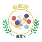 Tıbbi tasarım — Stok Vektör