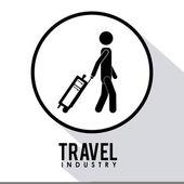 Travel icon design — Stock Photo