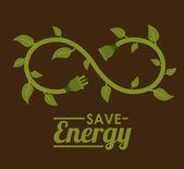 Yeşil enerji tasarımı — Stok fotoğraf