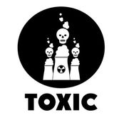 Toxic and Pollution design — Stock Vector