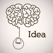 Geweldig idee ontwerp — Stockvector