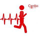 Kardiologi design — Stockvektor
