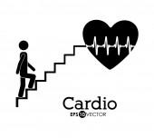 Conception de cardiologie — Vecteur