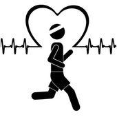 心臓病の設計 — ストックベクタ