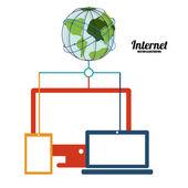 互联网设计 — 图库矢量图片