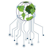 Internet design — Stock Vector