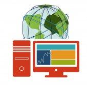 Internet-design — Stockvektor