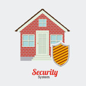 Security and Insurence design — Stock Vector