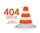 Error design — Stock Vector