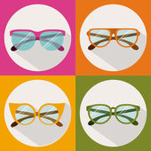 Glasses design — Stock Vector