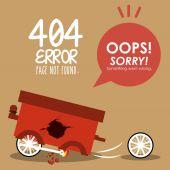 Error design  — Stockvector
