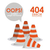 Error design — Stock Vector