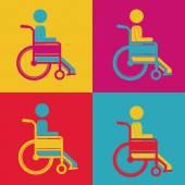 Conception handicapée — Vecteur