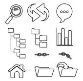 Security system design  — Vector de stock