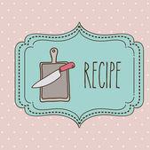 Cook icon design  — Wektor stockowy
