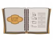 Cook icon design  — Vettoriale Stock