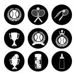Tennis design — Stock Vector #70450943