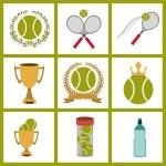 Tennis design — Stock Vector #70450949