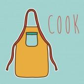 Cook ikon design — Stockvektor