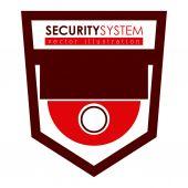 セキュリティ システムの設計 — ストックベクタ