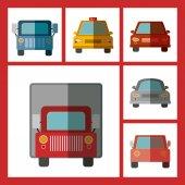 Transportation design — Stock Vector