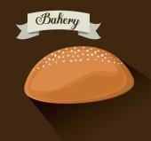 Bäckerei design — Stockvektor