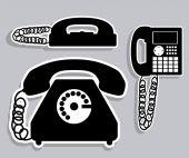 Diseño de comunicación — Vector de stock