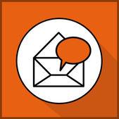 Communcation design — Vetor de Stock