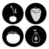Progettazione di alimenti biologici — Vettoriale Stock