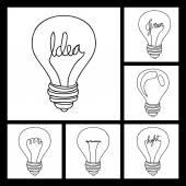 Idee ontwerp — Stockvector