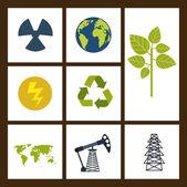Recycle-design — Stockvektor