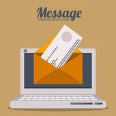 Message design  — ストックベクタ