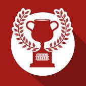 Racing School design — Vettoriale Stock