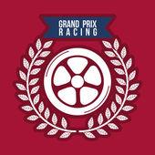 Racing szkoły projektowania — Wektor stockowy