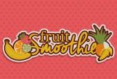 Conception de smoothie — Vecteur