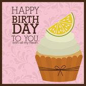 Happy Birthday design — Stock Vector