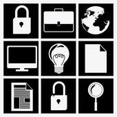 Shopping online-design — Stockvektor